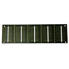 Channel Fader Replacement Panel Plate For Pioneer DJM600 Brown DAH2103