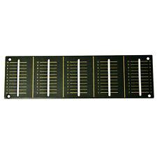 PANNELLO DI RICAMBIO fader di canale piatto per Pioneer djm600 Brown dah2103