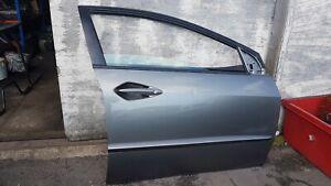 HONDA CIVIC MK8 06-11 FRONT DOOR COMPLETE DRIVER OFF IN GALAXY GREY NH701M