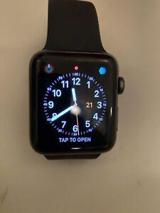Apple Watch Series 3 GPS + (ATT)Cellular Space Gray Aluminum 42mm