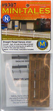 Monroe Models N Scale Scenery Detail Kit - Straight Picket Fence