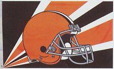 Cleveland Browns  Huge 3'x5' NFL Licensed Helmut Flag / Banner - Free Shipping