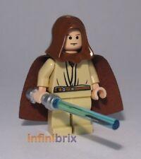 LEGO Obi-Wan Kenobi Con Cappuccio Da Set 7665 REPUBBLICA CRUISER STAR WARS sw173 NUOVO