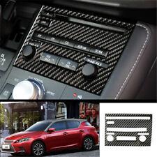 For Lexus CT200h 2011-2017 Carbon Fiber Car central console CD strip trim B 1PCS