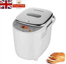Automatic Bread Maker Electric Machine LED Touching 12 Functions Preset 540W UK
