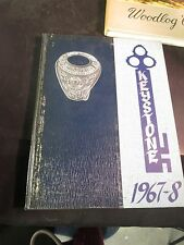 Logan College of Chiropractic St Louis MO 1968 Yearbook/Annual