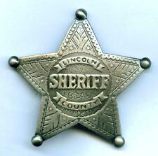 Sheriff Stern  Lincoln County New Mexico Marshal Western
