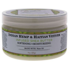 Indian Hemp & Haitian Vetiver Infused Shea Butter Softening & Moisturizing- 4 oz