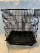 The A and E Cage Co. New, Black, Flat Top Bird Cage 50% Off Retail Price