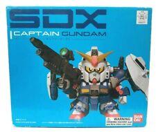 Bandai SDX Captain Gundam Figure