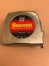 Starett 25' Measuring Tape