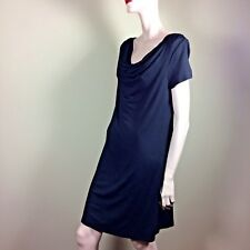 MICHAEL STARS Damen Kleid M 38 Schwarz Shirtkleid Casual Style Shift Dress