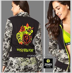 ZUMBA INSTRUCTOR Zin Queen Hoodie Jersey Cardigan Jumper Jacket GORGEOUS! S M L