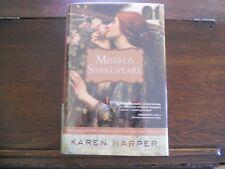 MISTRESS SHAKESPEARE by Karen Harper, 1st ed/1st print (2009, Hardcover)
