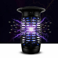 Black Electric Fly Pest Bug Zapper Insect Zappers Mosquito Killer UV Lamp Indoor
