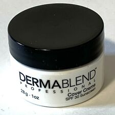 NEW Dermablend Professional Cover Creme 1 Oz Chroma 5 1/2 Golden Brown SPF 30