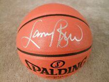 Larry Bird Autographed Spalding NBA Basketball ! Boston Celtics ! Fanatics
