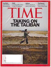 TIME Magazine March 8, 2010 Taking on the Taliban, Haiti, Autism-Jenny McCarthy