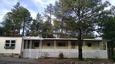 MOBILE HOME IN THE COOL PINES OF PRESCOTT, AZ., 55+ PARK, FIXED FLEETWOOD MH.