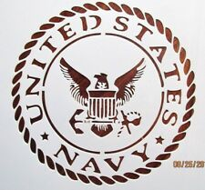 United States Navy Emblem Stencil/TEmplate Reusable 10 mil Mylar