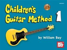 Children's Guitar Method Volume 1 by William Bay Learn to Play Song Book