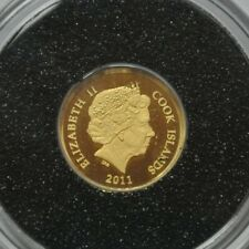 COOK ISLANDS 5$ 2011 OR PUR/GOLD 0,50G