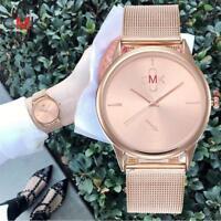 Fashion Women's Casual Watches Quartz Stainless Steel Band Analog Wrist Watch