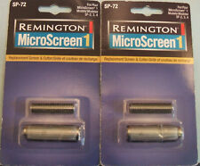 Lot of 2 Remington SP-72 MicroScreen1 Head & Cutters for Models SF-2, 3, 4 - New