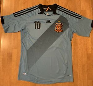 SPAIN Real Federación Española de Fútbol CESC FABREGAS ClimaCool Jersey #10 Sz L