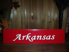 ARKANSAS STATE SIGN MAN CAVE COUNTRY REDNECK HILLBILLY BAR PUB GAME ROOM SOUTH