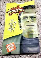 Jack in the box Universal Studios monsters kids meal bag New  1999