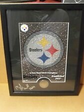 Highland Mint, Mike Munchak - Pgh Steelers, Signed & Framed, 6 Times Champs
