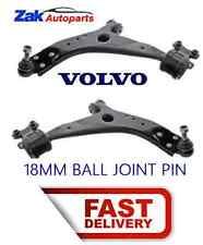 VOLVO V50 C70 06-12 frontal inferior brazos de suspensión/Espoletas De 2 par 18mm Nuevo