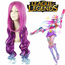 LOL League of Legends Miss Fortune The Bounty Hunter Hair Cosplay Wigs USA Ship