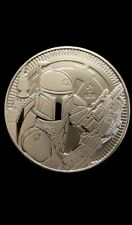 Star wars silver coin. 1oz silver coin. New 2020