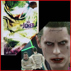 Hot Toys Movie Masterpiece Suicide Squad  Arkham Asylum Joker MMS 373 From Japan