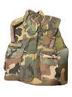 army flak vest, Woodland BDU, Medium, 1989