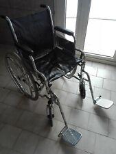 sedia a rotelle Carrozzina Transito Pieghevole, Taglia 45cm - in alluminio