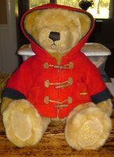 "HARRODS 2003 Bear * GORGEOUS Harrods Collectible Soft Plush Teddy Bear 18"" Tall"