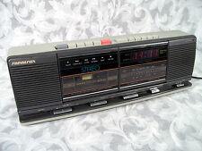 Vtg SOUNDESIGN AM-FM DIGITAL CLOCK STEREO RECEIVER CASSETTE RECORDER 3877MGY