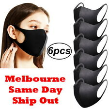 6X Material Washable Face Mask Melbourne in Stock