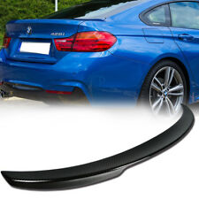 Carbon For BMW 418d 420i F36 Performance P Type Gran Coupe Trunk Spoiler