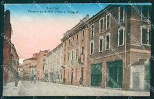 Vicenza Thiene Poste PIEGHINA cartolina QT2642