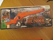 Pack Cabela's Big Game Hunter 2010 ~ Jeu Nintendo Wii + fusil