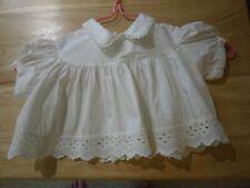 Vintage Baby Clothing, Lace de Francaise, ca 1962