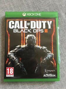 CALL OF DUTY Black Ops III - Microsoft XBOX ONE Game - PEGI 18