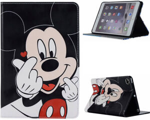For iPad Pro 10.5 / 10.2 / Air 3 Mickey Mouse Walt Disney Donald New Case Cover