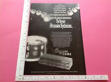 More details for snyper percussion synthesizer vintage advert 1980 drum synthesiser synth drums