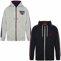 New Mens Tokyo Laundry Hennessey Zip Through Cotton Blend Hoodie Size S-XXL