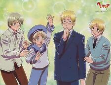 poster promo Hetalia Axis Powers anime Black Butler Kuroshitsuji Sweden Finland